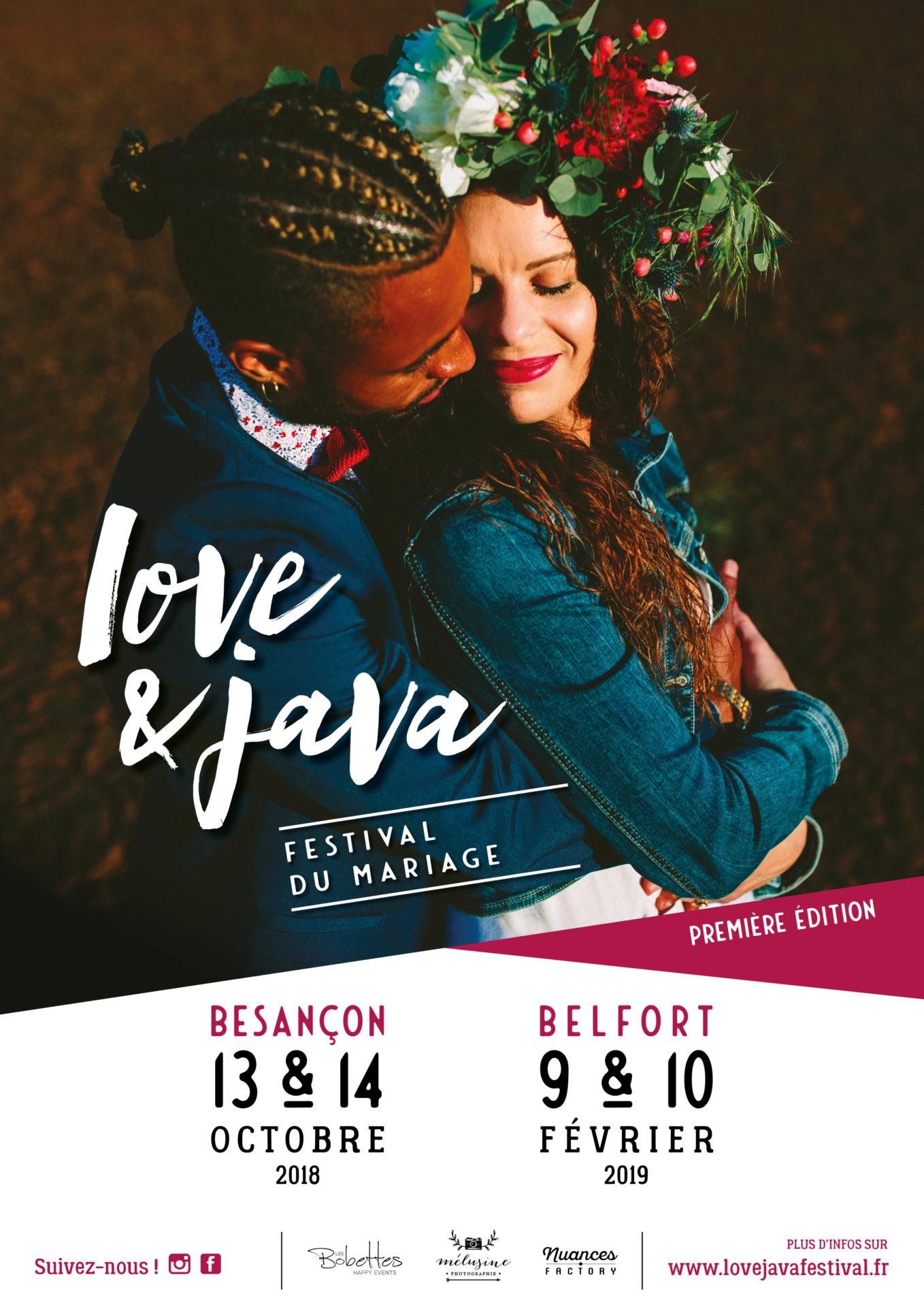 affiche Love et Java