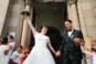 Sortie d'église Voujeaucourt Mariage fun