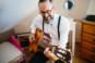 guitariste mariage franche comte pere du marie