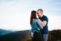 Couple d'amoureux au Ballon d'Alsace